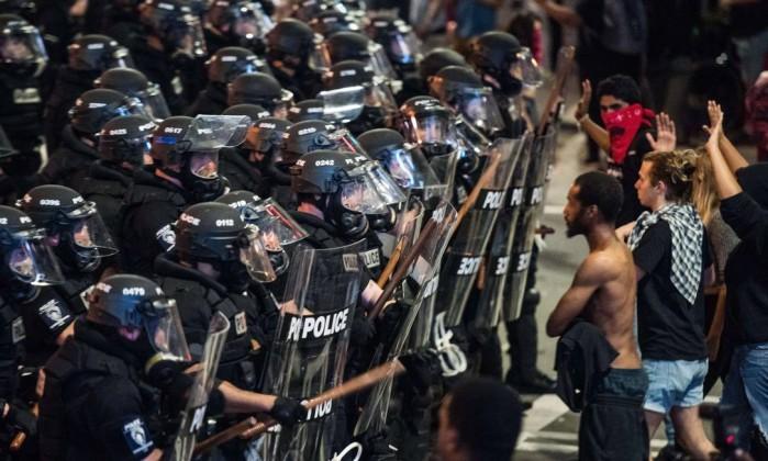 Resultado de imagem para protesto Charlotte