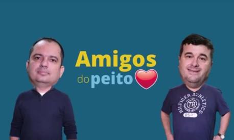 Um dos vídeos dos amigos de Pedro Paulo Foto: Reprodução