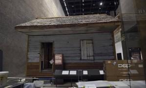 Casa para escravos em exibição no Museu Nacional de História Americana Africano e Cultura Foto: AP/Susan Walsh