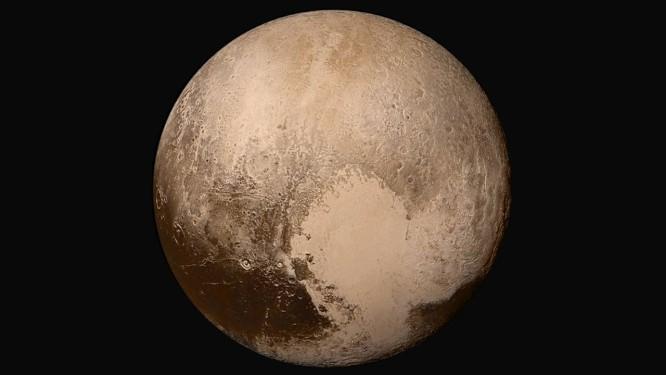 d6457c4ea58b8 Imagem de Plutão feita pela sonda New Horizons durante sua aproximação do  planeta-anão no