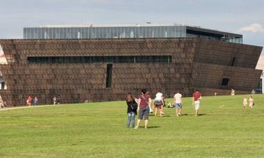 Fachada do museu Foto: Divulgação