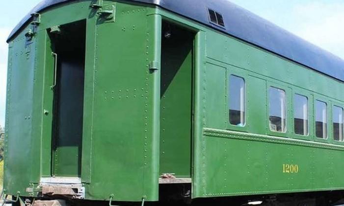 Vagão de trem na época das leis Jim Crow Foto: Divulgação