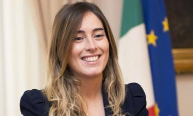Ministra das Reformas Constitucionais, Maria Elena Boschi lidera campanha pelas mudanças propostas por Renzi Foto: Tiberio Barchielli-Filippo Attil / Divulgação