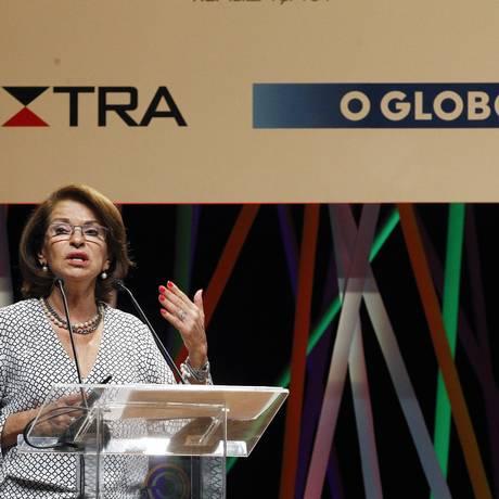 A secretária executiva do MEC, Maria Helena Guimarães Foto: Luiz Ackermann / Agncia O Globo