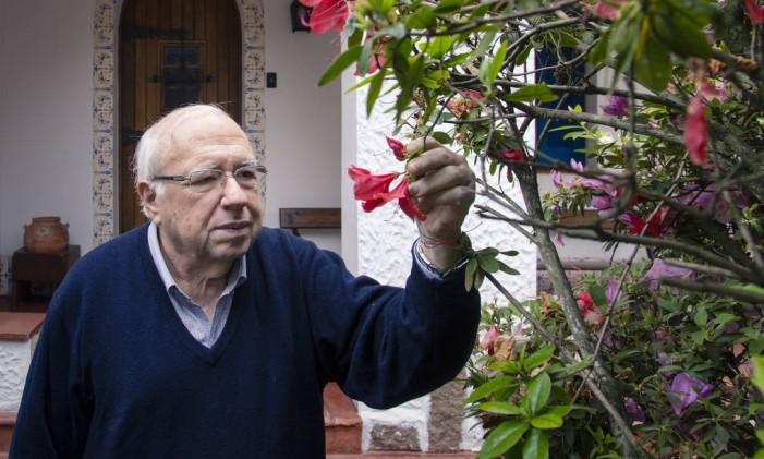 Verissimo: 'O que muda com a idade é que perdemos a perspectiva' Foto: Leo Martins / Agência O Globo