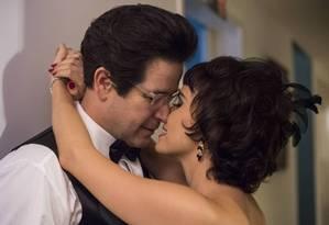 Saulo (Murilo Benício) e Verônica (Débora Falabella) Foto: Divulgação/TV Globo