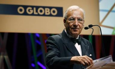 Michel Maffesoli durante sua palestra no Educação 360 Foto: Luiz Ackermann / Agncia O Globo