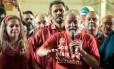 O ex-presidente Luiz Inácio Lula da Silva discursa em Fortaleza em comício da candidata do PT à prefeitura, Luizianne Lins Foto: Divulgação