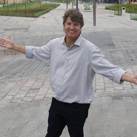 Mudança. Backheuser está entusiasmado com a Zona Portuária: ele é um dos autores do projeto da Orla Conde Foto: Marcelo Carnaval / Marcelo Carnaval