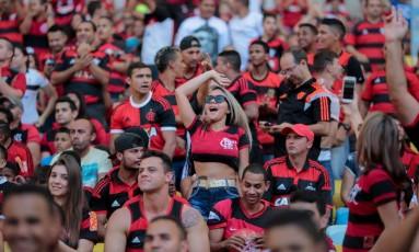 Torcida do Flamengo: foto de arquivo Foto: Pedro Kirilos / Agência O Globo