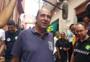 O candidato do PHS à prefeitura de Belo Horizonte, Alexandre Kalil Foto: Evandro Éboli