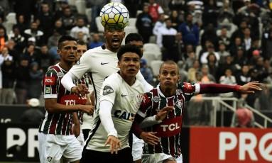 Corinthians x Fluminense, pelo segundo turno do Campeonato Brasileiro: vitória tricolor quatro dias depois de derrota para o Timão na Copa do Brasil Foto: Mailson Santana / Fluminense