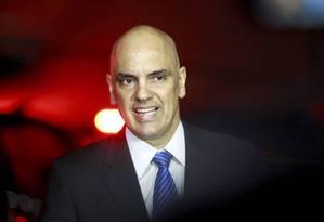 O ministro da Justiça, Alexandre de Morais. Foto: RE Extra / Agência O Globo/ 21-07-2016
