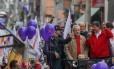 Ex-presidente participou de ato na Zona Leste de São Paulo em apoio à reeleição do prefeito Fernando Haddad