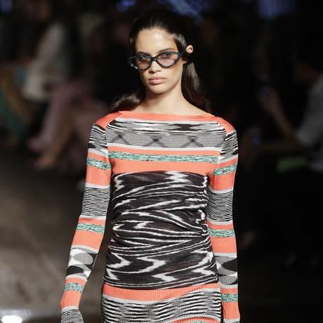 Primavera/Verão da Missoni na Semana de Moda de Milão Foto: Antonio Calanni/AP