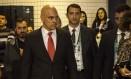 O ministro da Justiça, Alexandre de Moraes Foto: Hermes de Paula / Agência O Globo