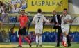 Cristiano Ronaldo xingou Zidane após a substituição Foto: Jesus De Leon / AP
