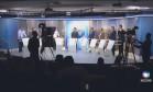 Candidatos à Prefeitura de Belo Horizonte participam de debate na Record Foto: Reprodução