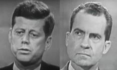 Kennedy (esq.) e Nixon Foto: Reuters/John F. Kennedy Presidential Library
