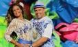 Falcon era casado com Selminha Sorriso Foto: Marcelo Theobald