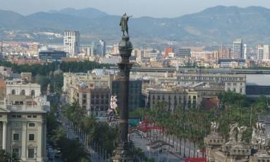 Monumento fica em região turística de Barcelona Foto: Wikimedia Commons