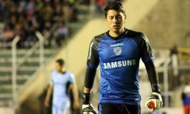 Quiñónez, goleiro da seleção boliviana Foto: Divulgação