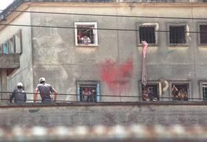 A antiga casa de detenção, em São Paulo: 111 detentos morreram em ação em 1992 Foto: Nellie Solitrenick / Agência O Globo / Arquivo 03/10/1992