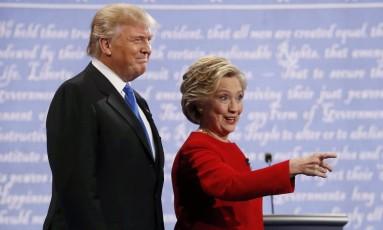 Trump e Hillary se preparam para início de debate em Nova York Foto: BRIAN SNYDER / REUTERS