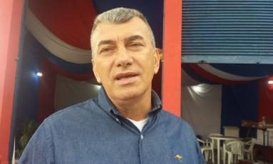 O candidato a vereado Fauto Loureiro Alves (PP) Foto: Célia Costa / Agência O Globo