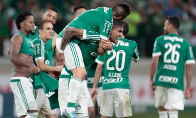 Palmeiras é o atual campeão da Copa do Brasil e tenta novamente o título Foto: Pedro Kirilos / Agência O GLOBO
