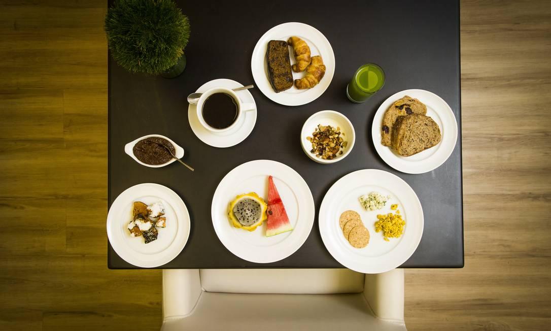 Da Bela. O novo espaço esrve café em esquema de bufê, com pães sem glúten e opções vegetarianas Bárbara Lopes / Agência O Globo