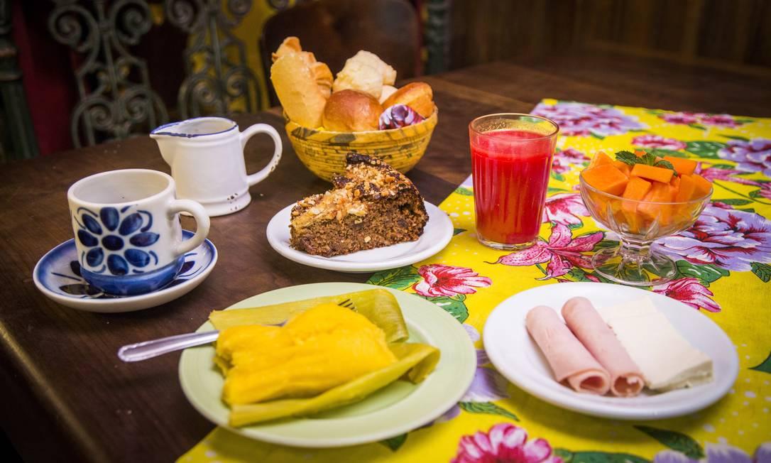 Casa da Tatá. Sabor caseiro para relembrar aquelas manhãs passadas na casa da vovó Bárbara Lopes / Agência O Globo