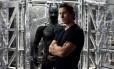 """Christian Bale no filme """"Batman: O cavaleiro das trevas ressurge"""" Foto: Divulgação"""