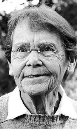 Barbara McClintock, única mulher a ganhar o Prêmio Nobel de Medicina sozinha, em 1983 Foto: Divulgação