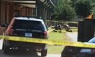 Agentes de segurança investigam tiroteio em escola de Townville, na Carolina do Sul Foto: Rainier Ehrhardt / AP