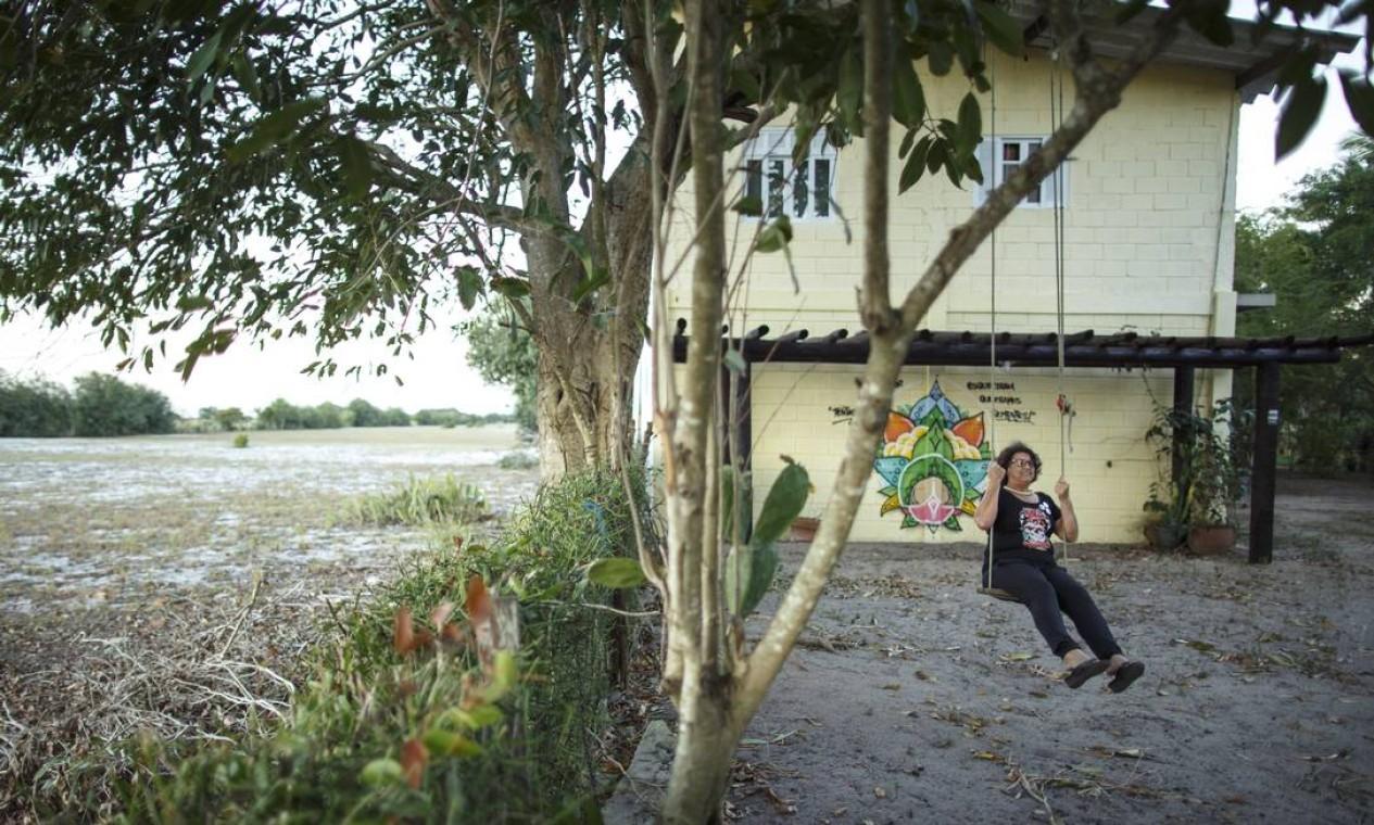 Apesar do jeito manso do interior, ela já enfrentou o empresário Eike Batista em sua tentativa de permanecer em casa Foto: Daniel Marenco / Agência O Globo