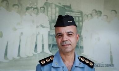 O Comandante da APM, Íbis Silva Pereira Foto: Guito Moreto