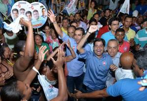 Candidatos do DEM a prefeitos na Bahia disputam agenda de ACM Neto para que ele apareça em seus programas de TV Foto: Max Haack / Divulgação