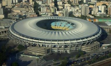 Vista aérea do Maracanã, que terá novo administrador em breve Foto: Genilson Araújo / Parceiro / Agência O Globo / Agência O Globo