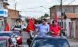 O prefeito e candidato à reeleição em São Luís, Edivaldo Holanda Júnior (PDT), líder das pesquisas de intenção de voto, durante campanha