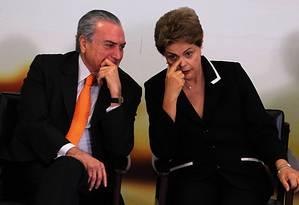 Processo analisa se chapa vencedora de 2014 recebeu verbas ilícitas para campanha Foto: Jorge William / Agência O Globo