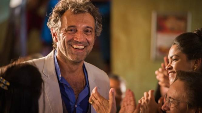 Foto do ator Domingos Montagner, morto no último dia 15, que abre a publicação de 140 páginas: e-mails, bilhetes, desenhos, selfies e poemas compõem o material Foto: Divulgação/tv globo/Caiuá Franco