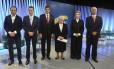 No debate em São Paulo, Haddad é alvo de ataques, e Doria é poupado