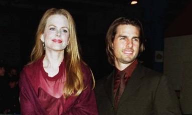 Nicole Kidman e Tom Cruise em 1998 Foto: Brad Rickerby / Reuters