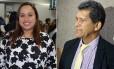 Os vereadores afastados Daniela Fortes (PEN) e Agamenon Sobral (PHS)