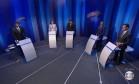 Debate eleitoral pela prefeitura de Recife (PE) Foto: Reprodução