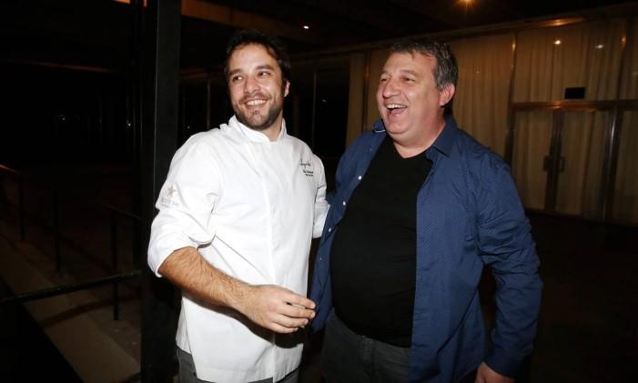 No evento, Elia Schramm voltará a cozinhar com Roland Villard Foto: Marcos Ramos / Agência O Globo