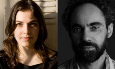 Vanessa Barbara e João Carrascoza publicaram pela Cosac Naify Foto: Divulgação / Agência O Globo