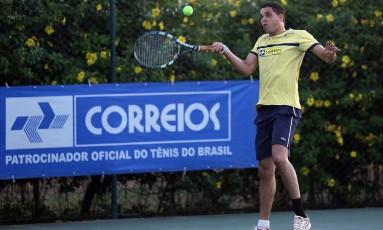 Correios patrocinava o tênis brasileiro desde 2008 Foto: Divulgação - CBT