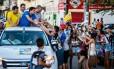Líder na pesquisa de intenção de voto, Rui Palmeira (PSDB) realiza evento de campanha em Maceió